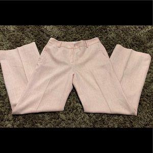 LOFT Pink Wool Slacks Dress Pants for women